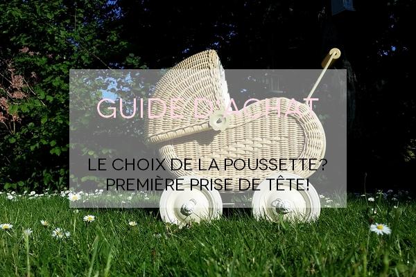 Guide poussette
