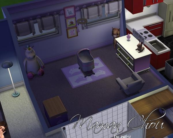 Les sims 4 enfin test mon avis maman chou for Sims 3 chambre bebe