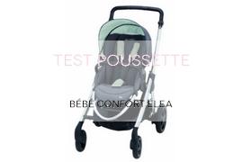 TEST POUSSETTE Bébé confort éléa