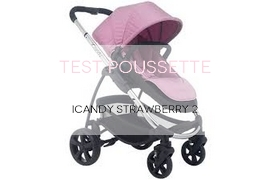 TEST POUSSETTE Icandy Strawberry 2