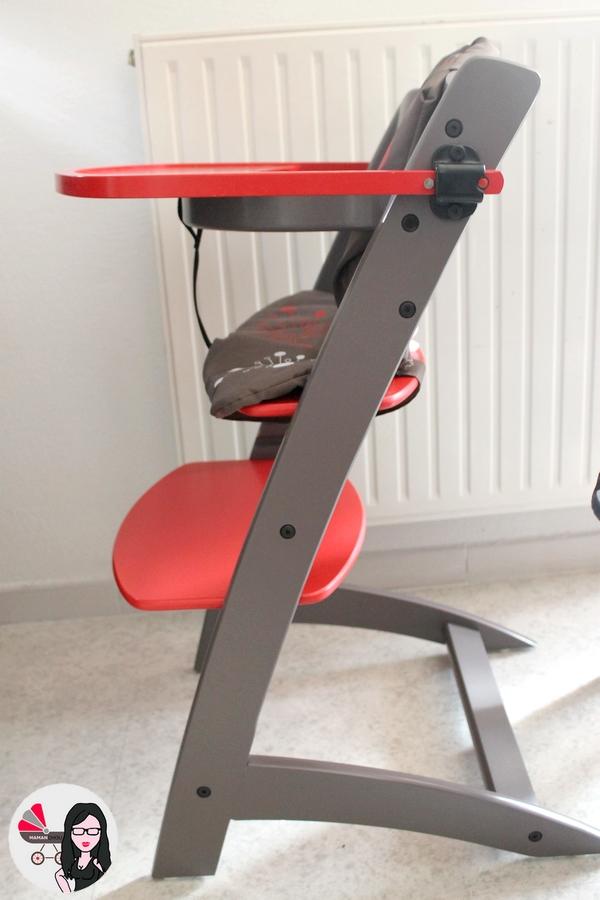 Notre Nouvelle Chaise Haute Signee Badabulle Maman Chou