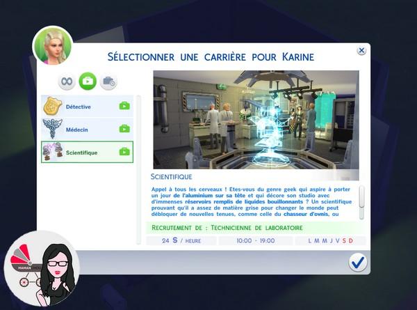 sims 4 legacy challenge fondateur job