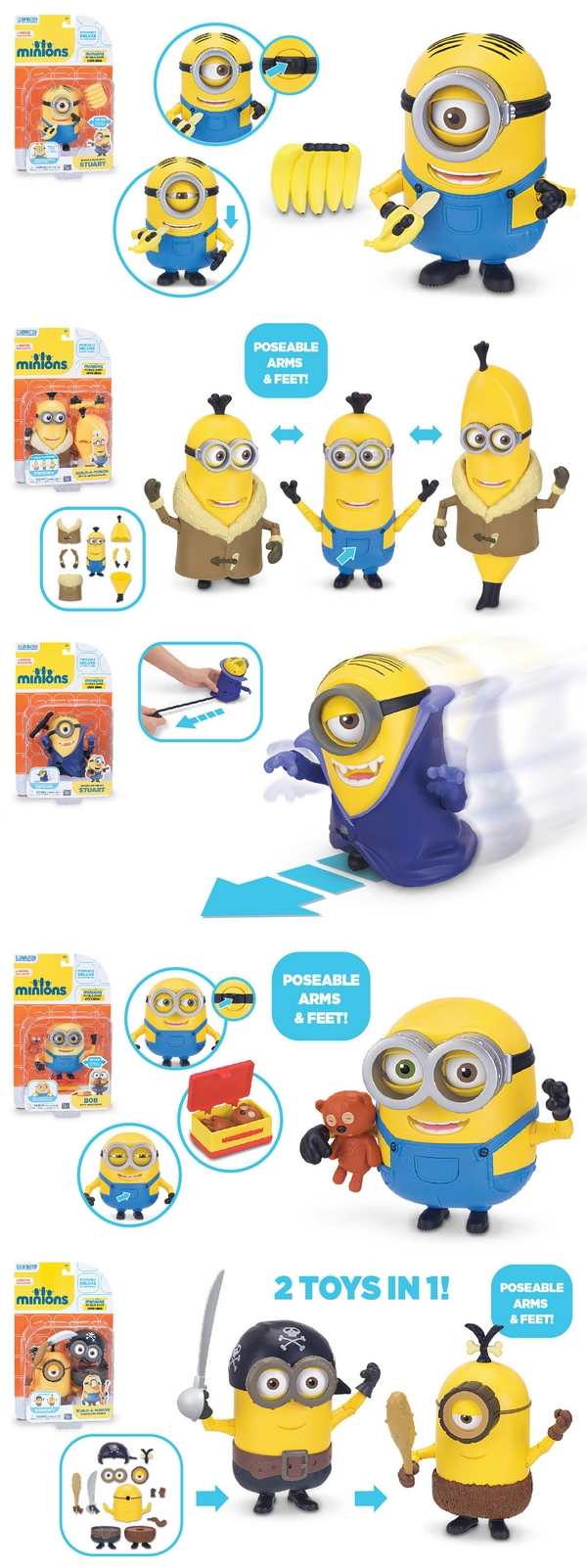 figurines deluxe minions