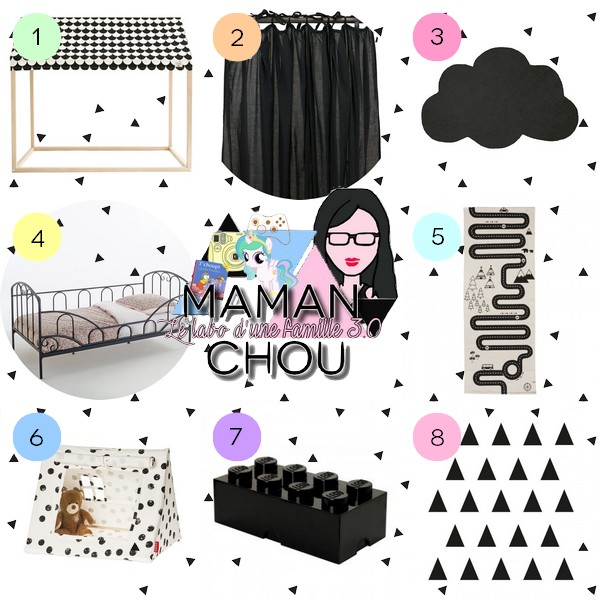 selection deco kids noir