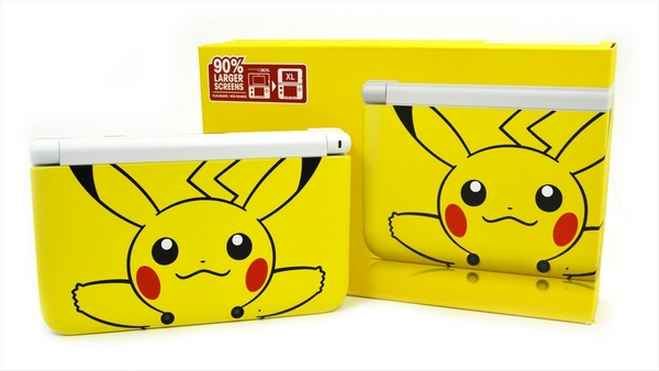 3ds xl pikachu