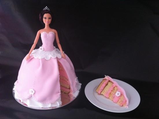 gâteau robe de princesse