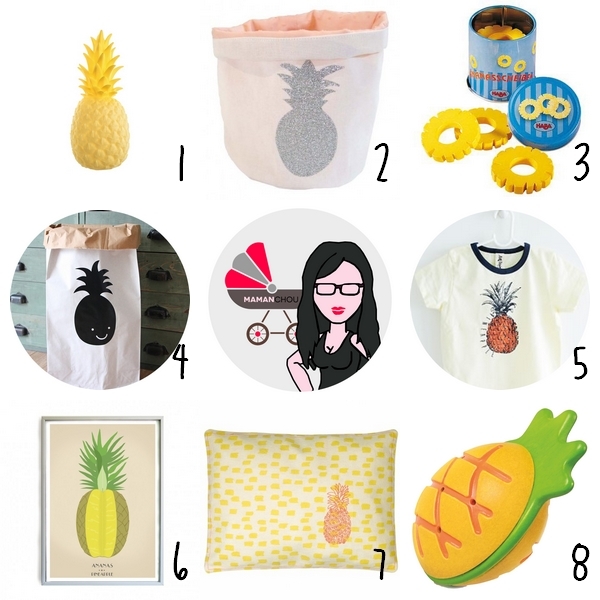 selection ananas