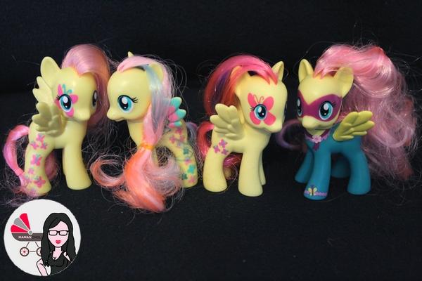 My Little pony figurines (5)