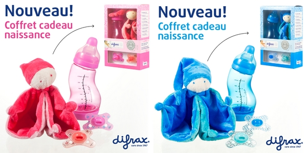 difrax coffrets naissance