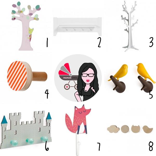 Guide d 39 achat 10 les indispensables d co dans la chambre - Porte manteau enfant arbre ...