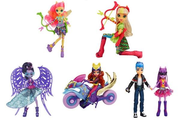 equestria girls nouvelles poupées