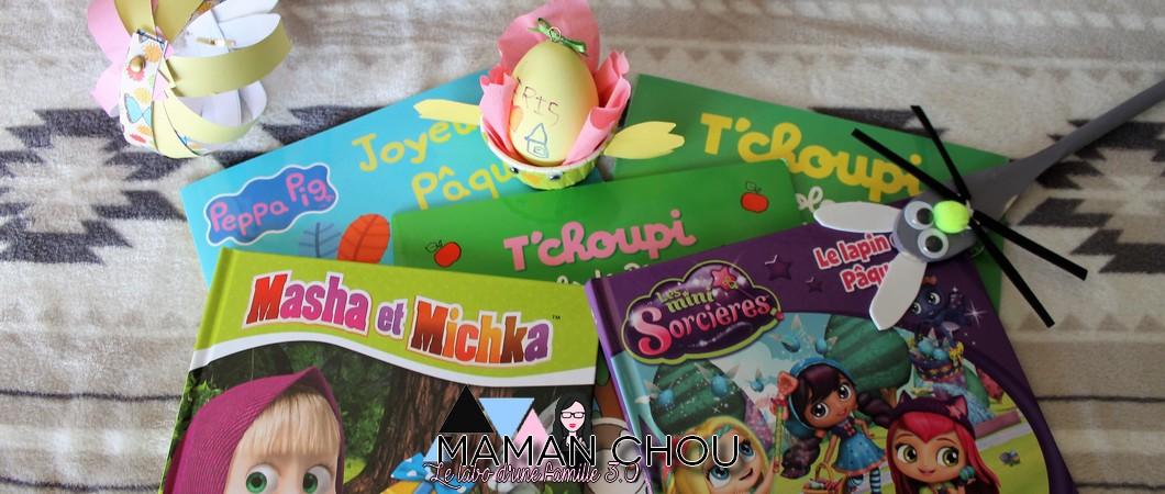 Les livres et activités de Pâques