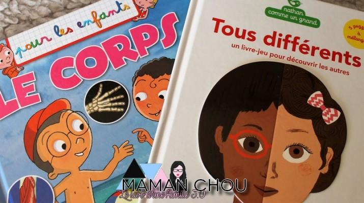 Les livres pour les enfants sur le corps humain