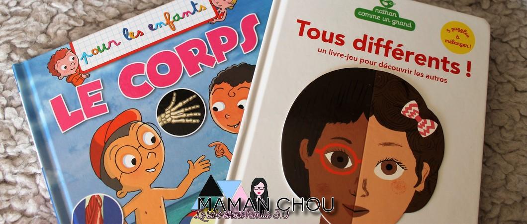 Les livres enfant sur le corps humain!