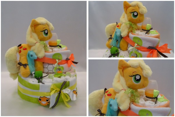 gateau de couches apple jack