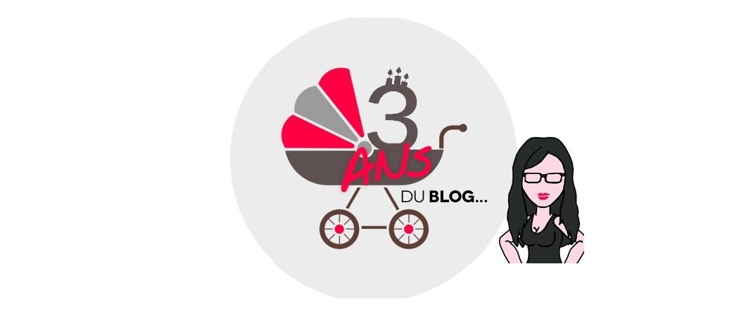 Happy 3 le blog!