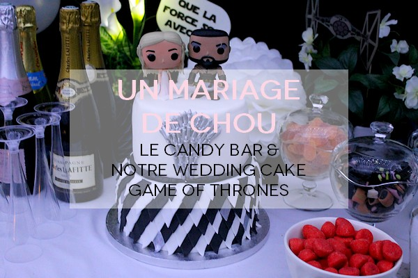 candy bar wedding cake