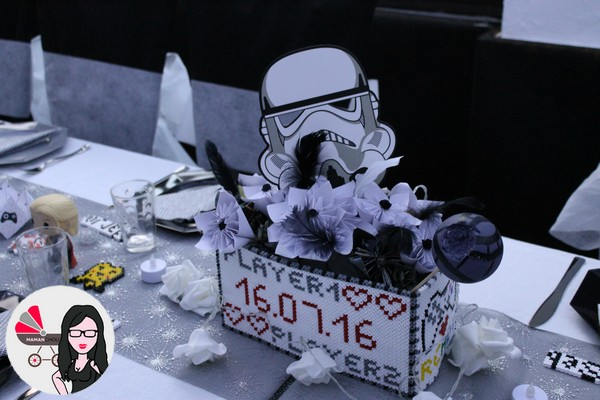 centre de table mariage geek (1)