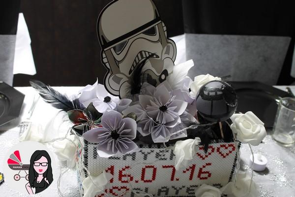 centre de table mariage geek (4)