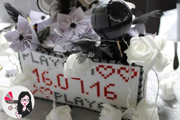 centre de table mariage geek (6)