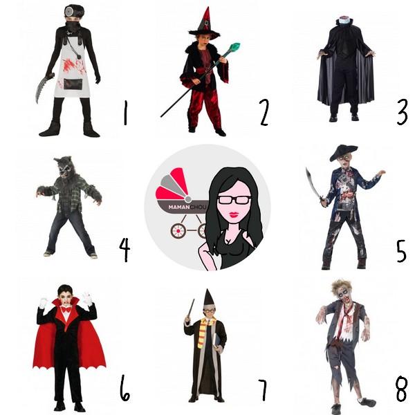 funidelia costumes halloween garçon