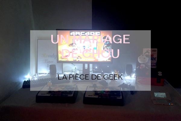 piece de geek mariage