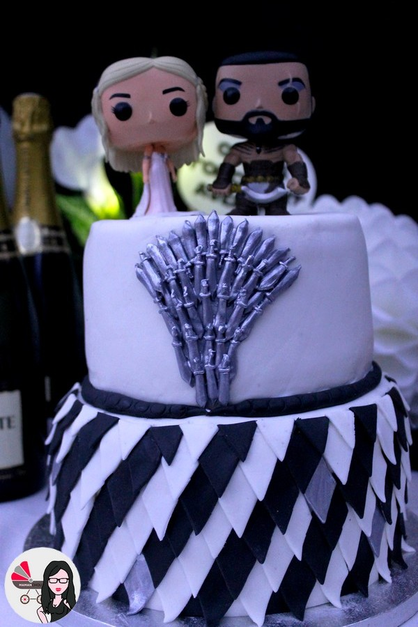 wedding cake game of thrones (3)