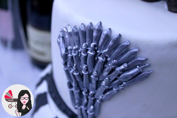 wedding cake game of thrones (5)