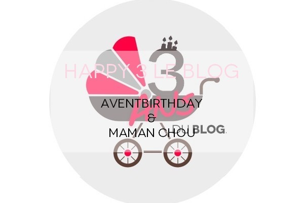 Happy 3 Maman Chou x AventBirthday