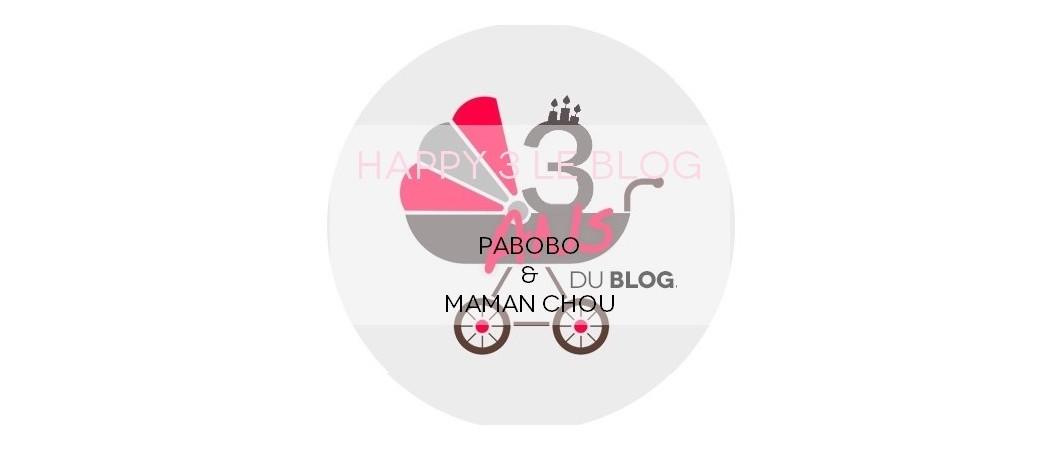 [Concours] Happy 3 le Blog avec Pabobo
