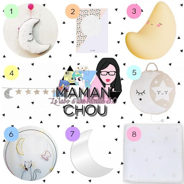 Selection Deco Pour Les Kids Au Clair De Lune Maman Chou