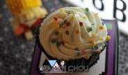 Les cupcakes café chocolat et crème à la vanille