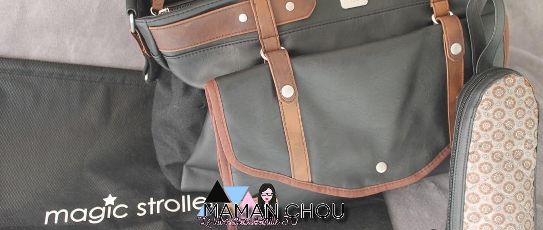 Magic Stroller Bag, des sacs à langer qui en jettent!