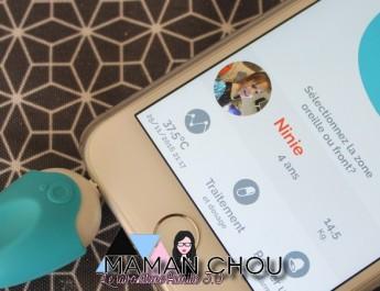 Avec Oblumi tapp mon Smartphone se transforme en thermomètre