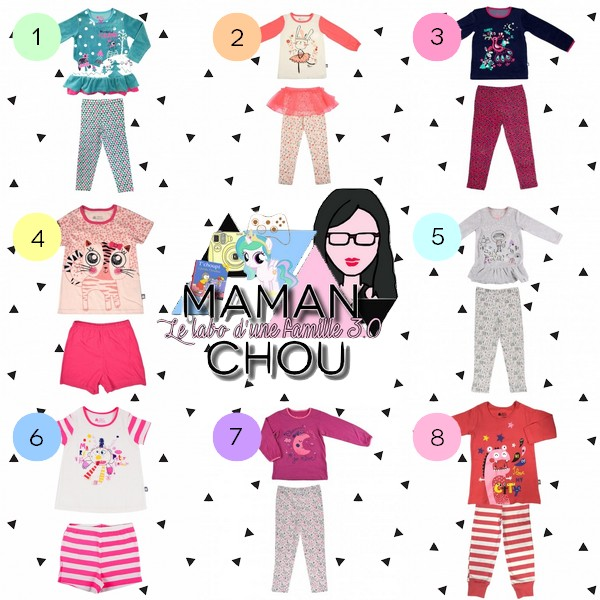 selection-pyjamas-filles-petit-beguin