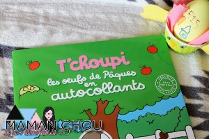 Les livres et activités de Pâques T'choupi les oeufs de Pâques en autocollants (1)