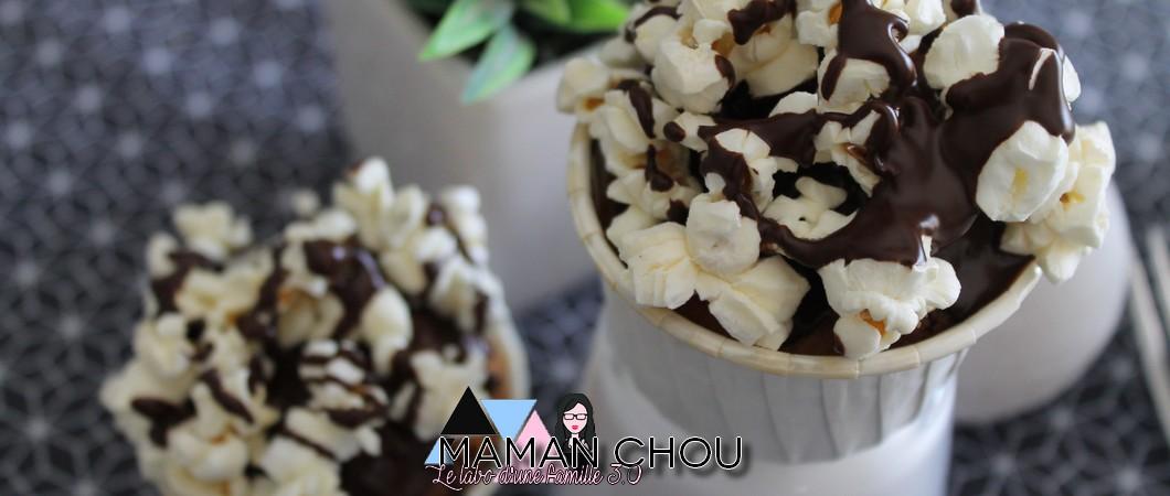 Cupcakes popcorn & chocolat