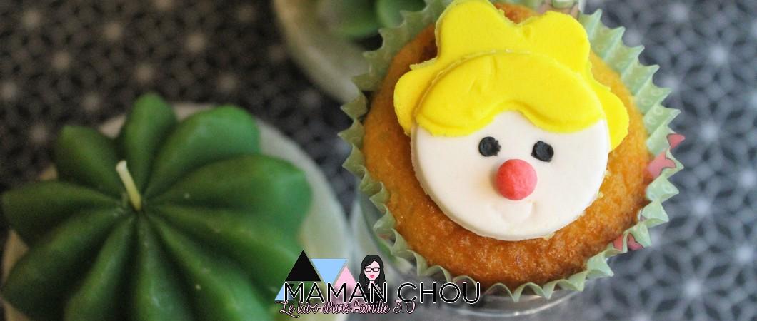 Cupcakes citron de Carnaval