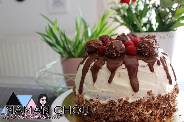 layer cake chocolat framboise (3)