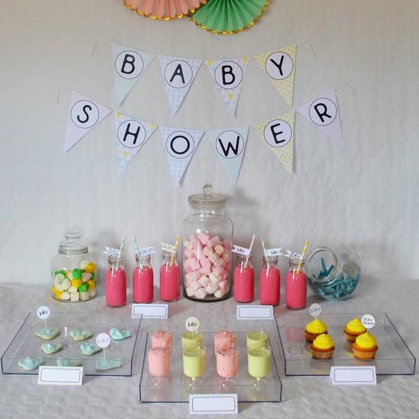 Kit Baby shower petits trognons