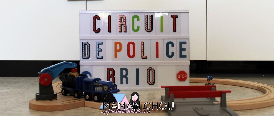 [CONCOURS] Le circuit de police BRIO WORLD