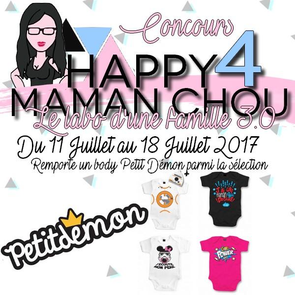 CONCOURS 4 ans MAMAN CHOU PETIT DEMON