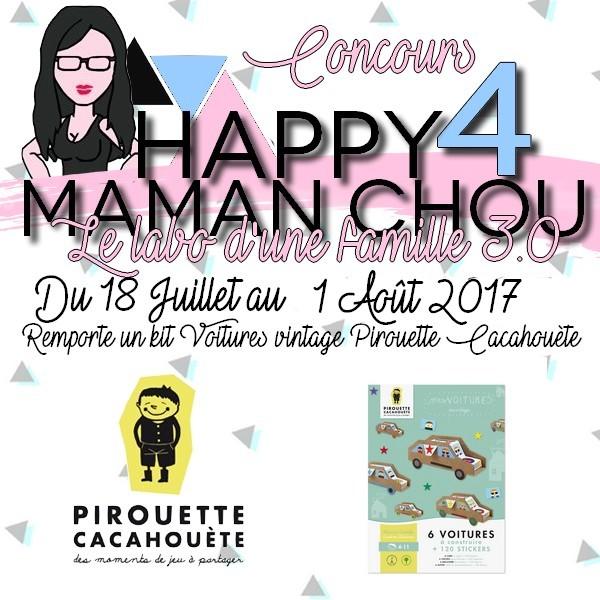 CONCOURS 4 ans Pirouette cacahouète maman chou 2
