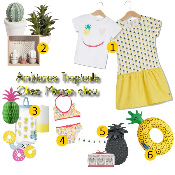 ambiance tropicale wish list