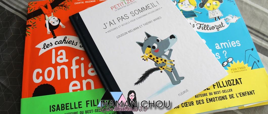 Les thématiques de l'enfance, en livres et pour les enfants! (Partie 2)