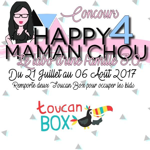 HAPPY 4 Maman Chou concours Toucan Box