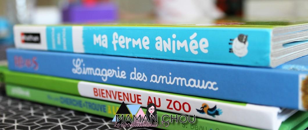 Nos lectures sur les animaux!