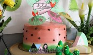 Recette du gâteau pastèque pour une Tropical Party au top!