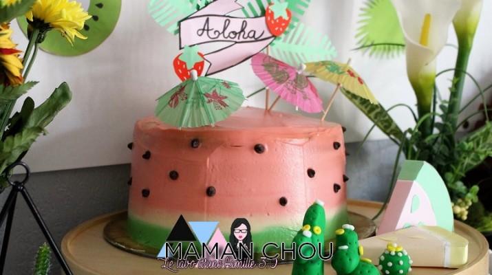 tropical party le gateau pasteque (1)