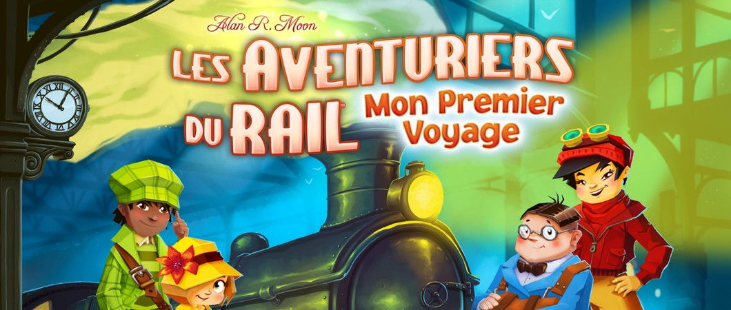 Ticket to Ride First Journey! Les aventuriers du rail comme une grande!